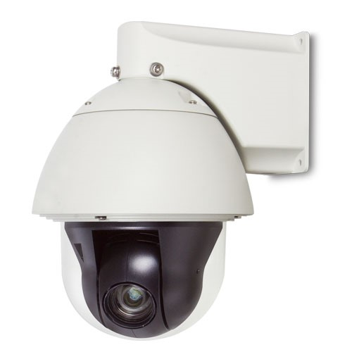 2 Mega-pixel PoE+ Speed Dome IP Camera with Extended Support; IP67/IK09 Outdoor (heater/fan)