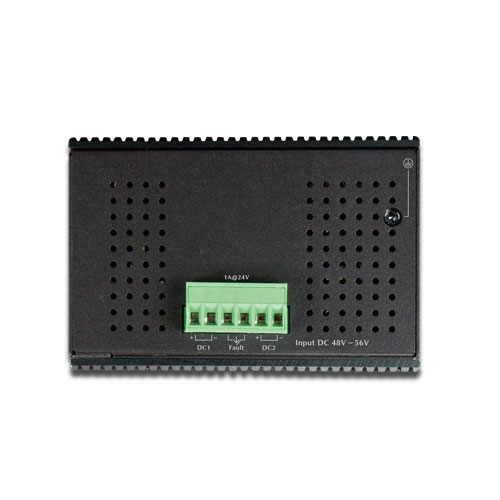 IP30 Industrial 8-Port 10/100TX 802.3at PoE + 2-Port Gigabit TP/SFP combo Ethernet Switch