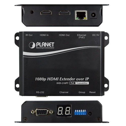 HDMI Extender Transmitter over IP with PoE - High Definition Digital Signage
