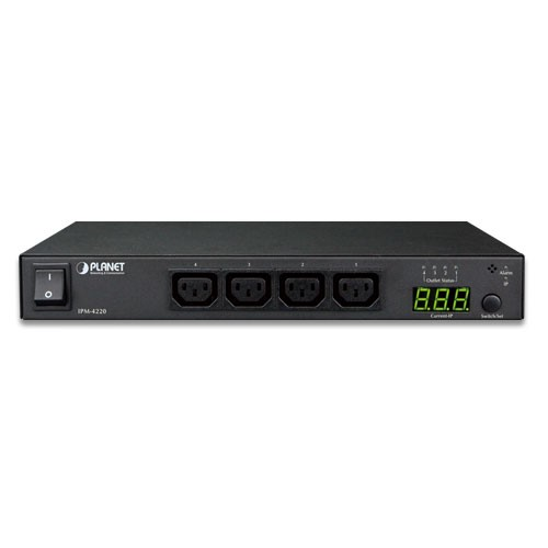IP-based 4-port Switched Power Manager (AC 100-240V, 16A max.) - EU Type
