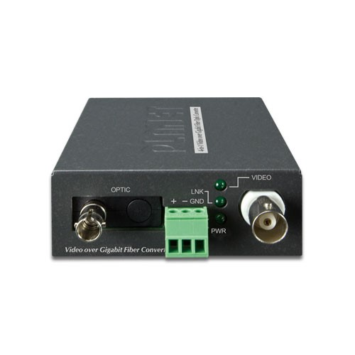 1-Channel 4-in-1 Video over Gigabit Fiber(SC WDM) converter up to 20KM