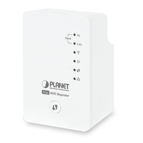 1200Mbps 802.11ac Dual Band Wall Plug WiFi Range Extender (UK Type)