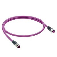 PROFIBUS SENSOR CORDSET, M12 5 POSITION MALE TO FEMALE, 5M