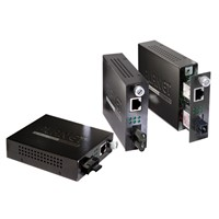 10/100Base-TX to 100Base-FX (SC) Smart Media Converter