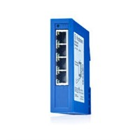 DIN Rail Managed Switch 4x FE TX