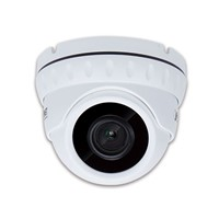 H.265 5 Mega-pixel Smart IR Dome IP Camera with Remote Focus and Zoom