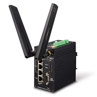 Industrial 4G LTE Cellular Gateway with 4-Port 10/100TX