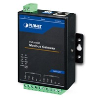 Industrial 2-port RS422/485 Serial to Ethernet Modbus Gateway