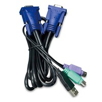 5.0M USB KVM Cable with built-in PS2 to USB Converter