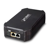 Single-Port 10/100/1000Mbps 802.3bt PoE Injector (95 Watts, internal PWR)