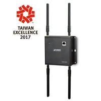 IP30, 1200Mbps 11ac Dual Band Wall-mount Wireless Access Point, Gigabit LAN, 802.3af/at POE PD, WAPC